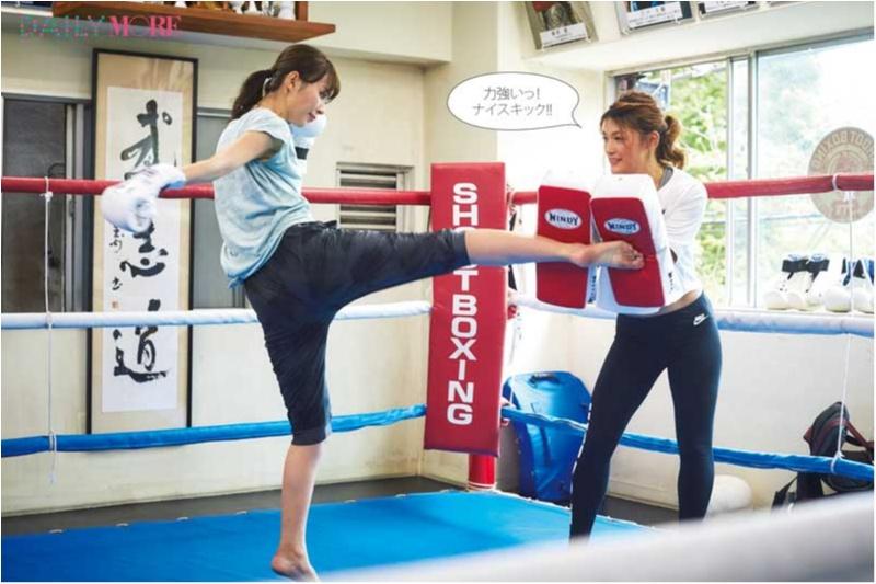 約半年のトレーニングで、だーりおが変わった4つのこと!【#モアチャレ 内田理央の「キックボクシング」チャレンジ!】_1