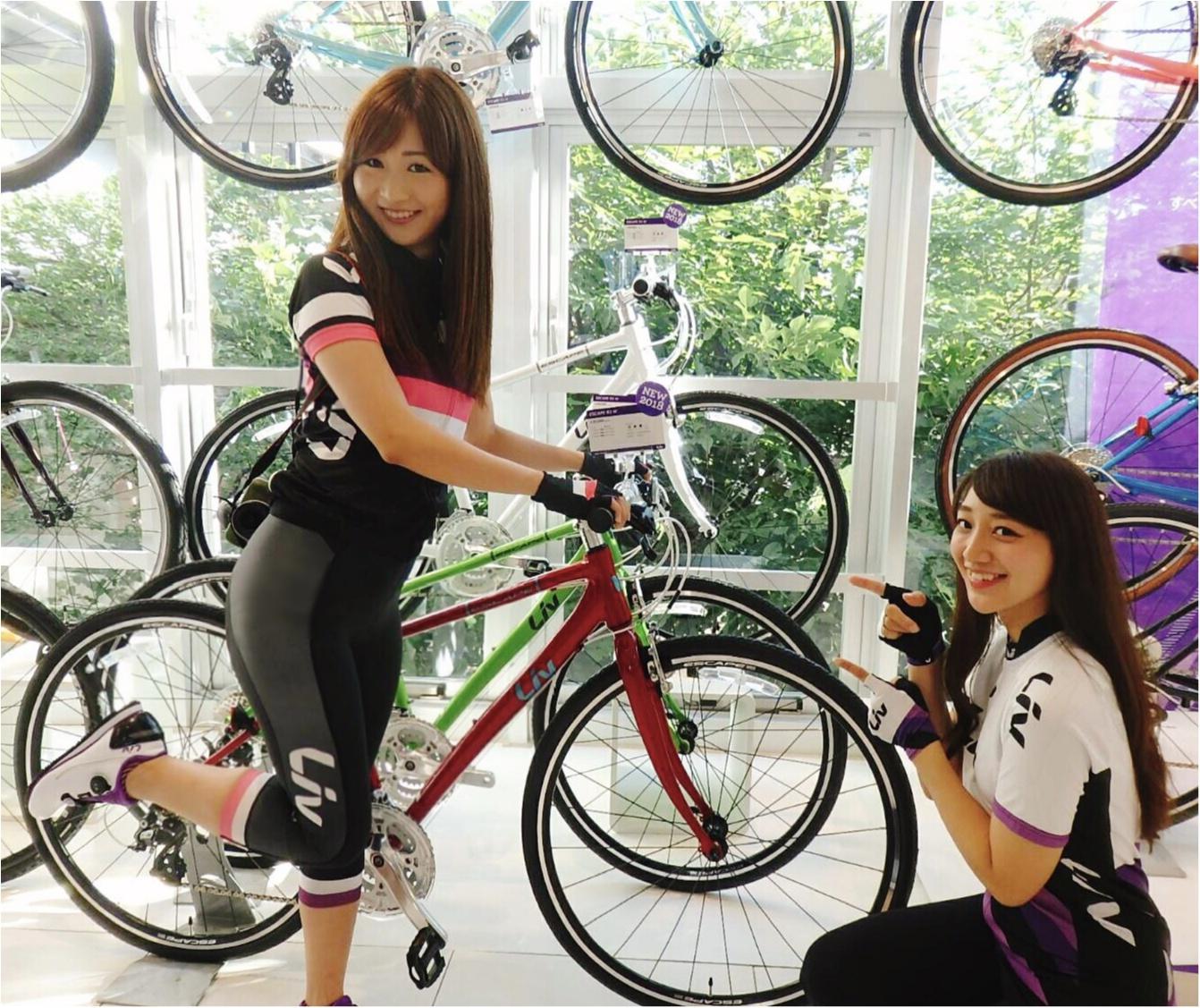 「ツール・ド・東北」完走のため一緒にがんばる相棒♡わたしたち三人娘の自転車を徹底解説!【#モアチャレ さえ】_5