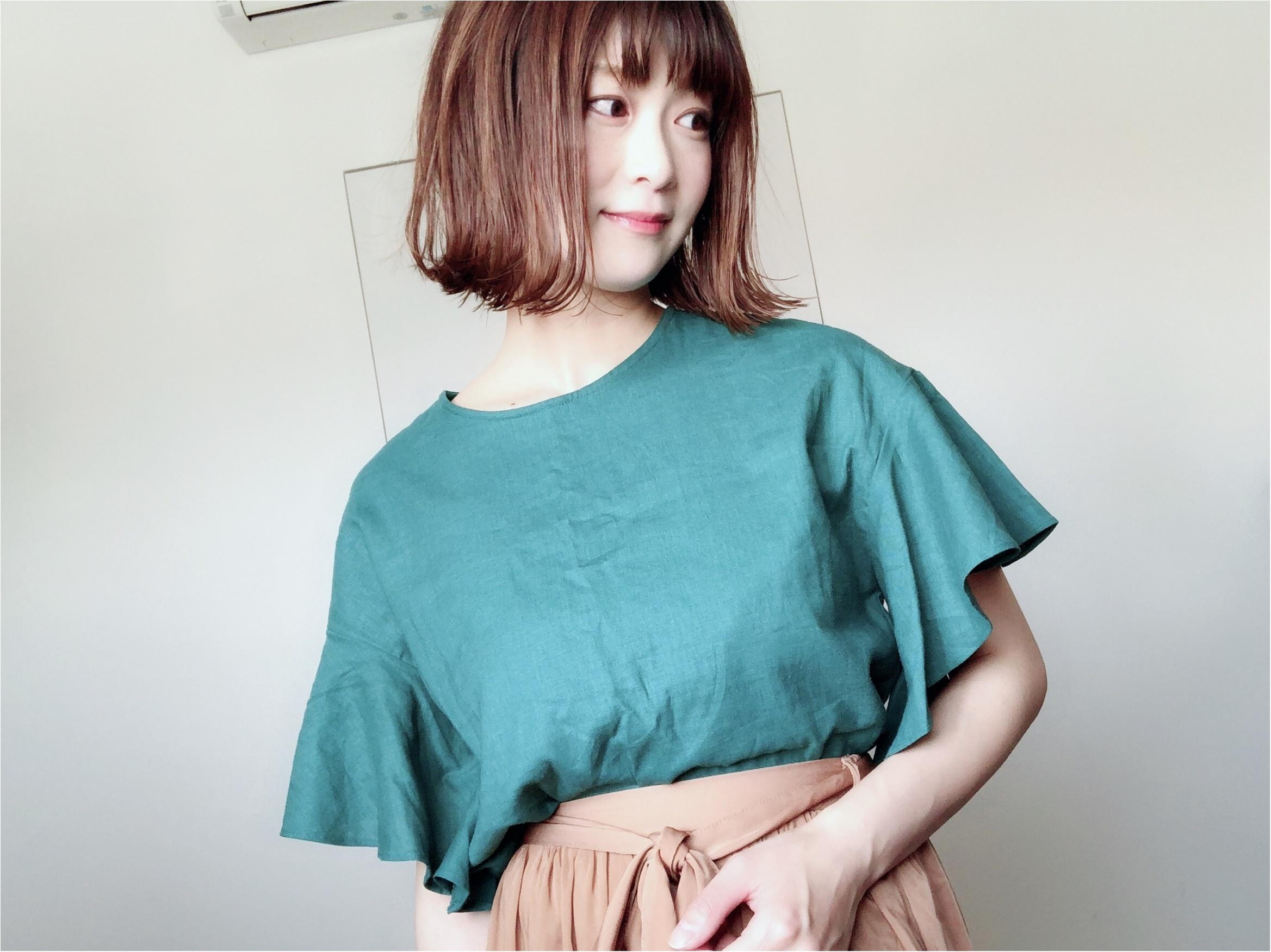 "【GU】夏といえばやっぱり""リネン""!今年はシャツじゃなくて〇〇が可愛い❤️_2"