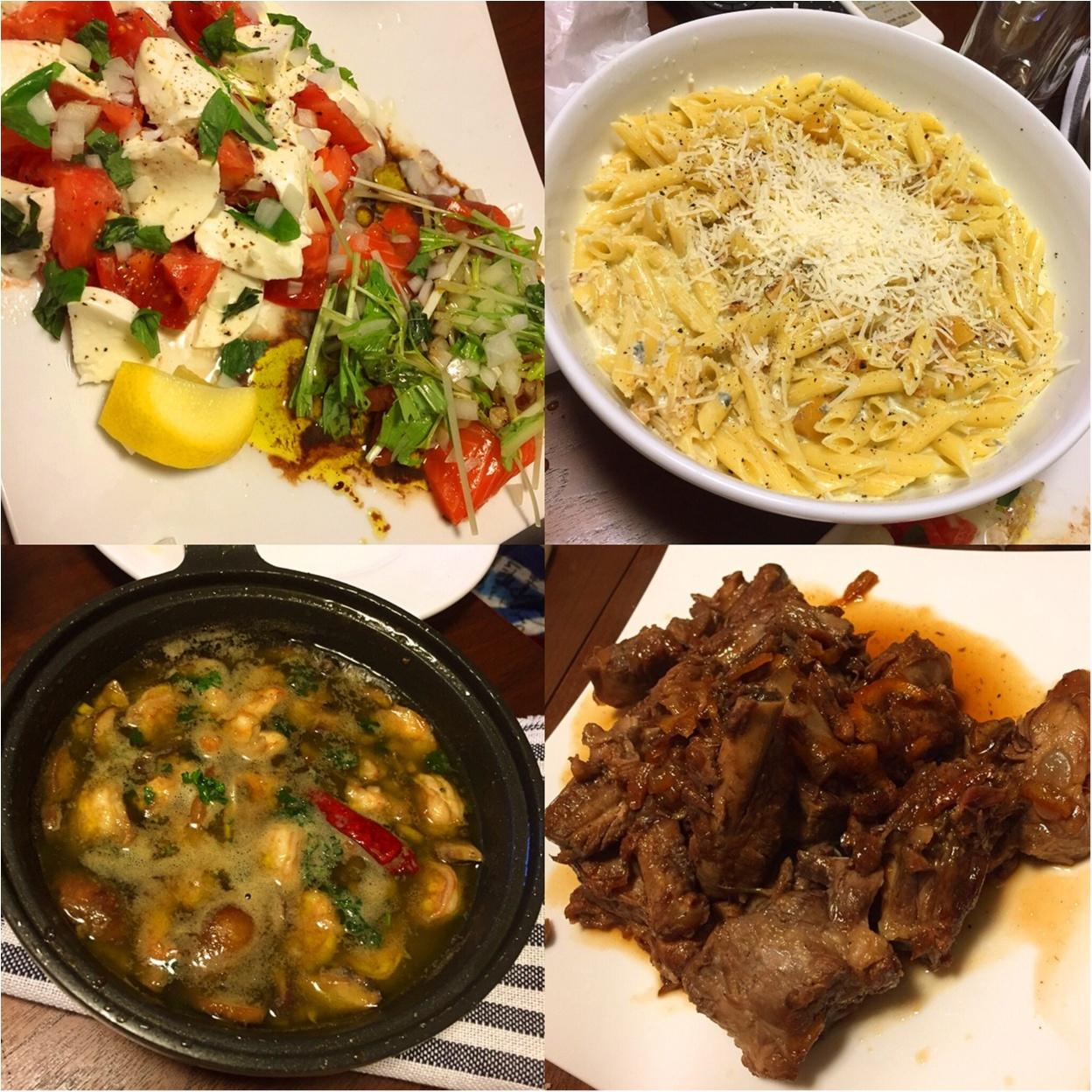 おうちで絶品イタリアン♡料理ができる男子はやっぱりモテるかもしれない...!!と思ったお話**_7