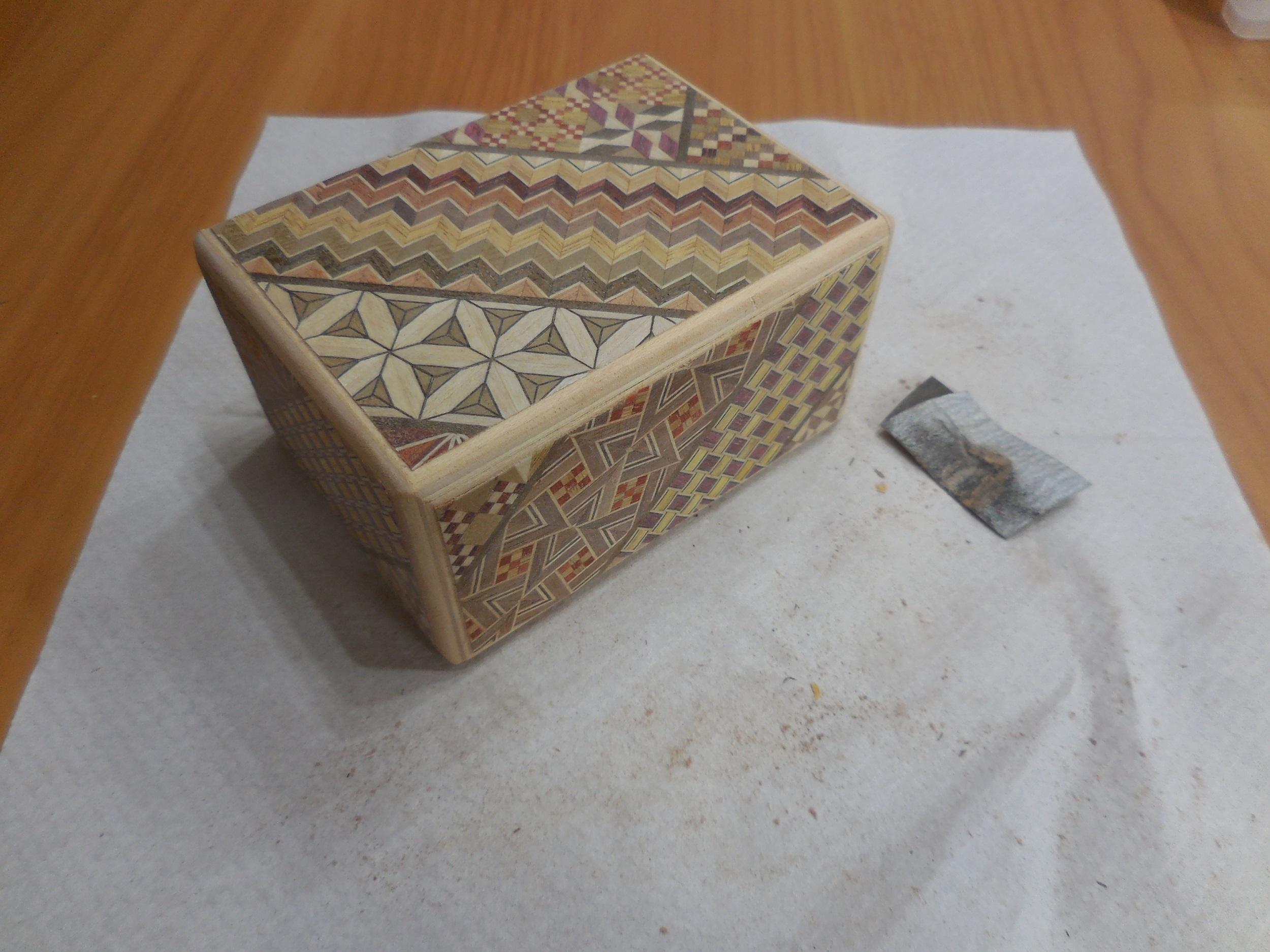 【箱根・寄木細工】秘密箱の工作体験をしてきました。_4