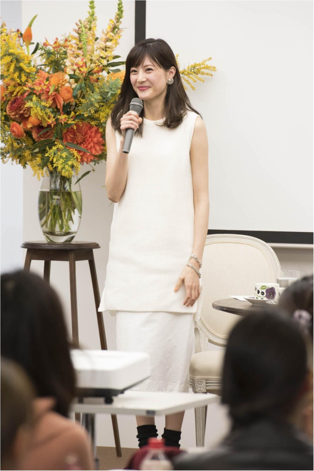 モデル佐藤ありさのこだわりがぎゅっ! 大人気ブランドの新作をイベントで発表しちゃいました☆_1