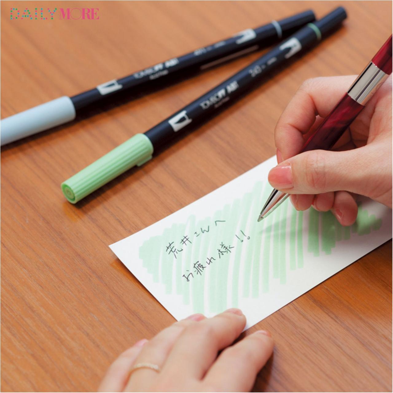 文具ソムリエール・菅 未里さんが教える! ほめられ「こてがみ」の極意♡_4