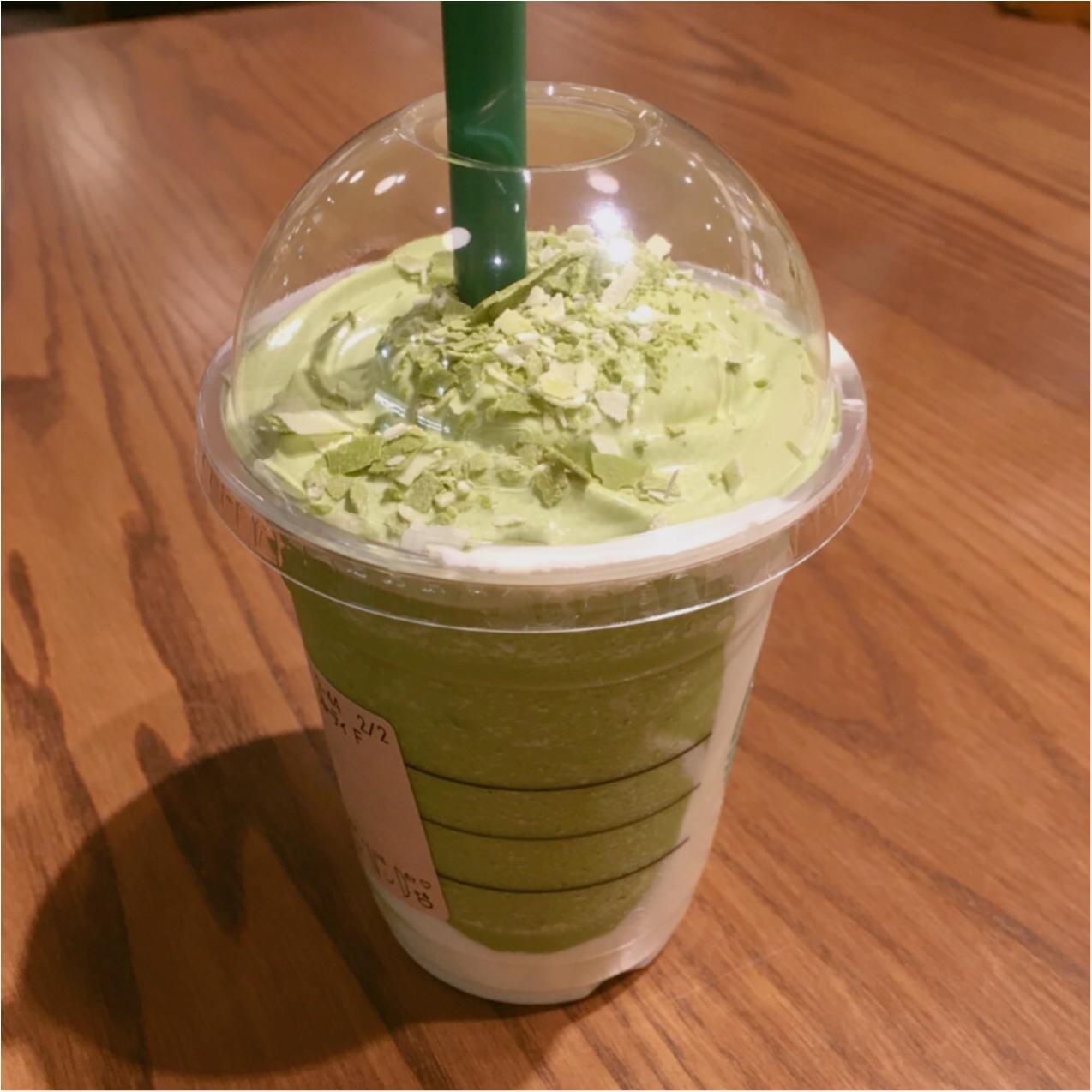 【STAR BUCKS】 クリーミーで美味しい♪ 抹茶&フルーティマスカルポーネフラペチーノ》が発売中です♡♡_3
