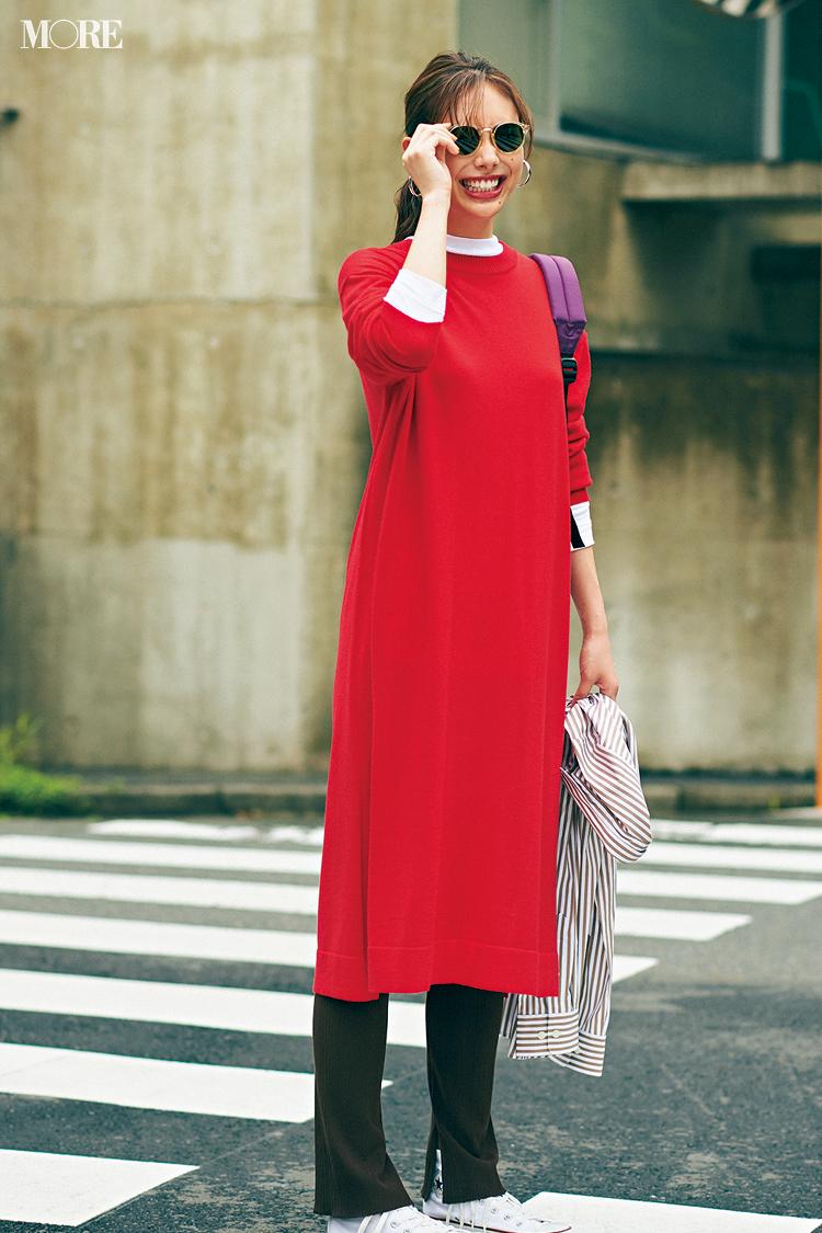 秋コーデ特集《2019年版》- トレンドのブラウンや人気のワンピース・スカートでつくる、20代におすすめのレディースコーデ_11