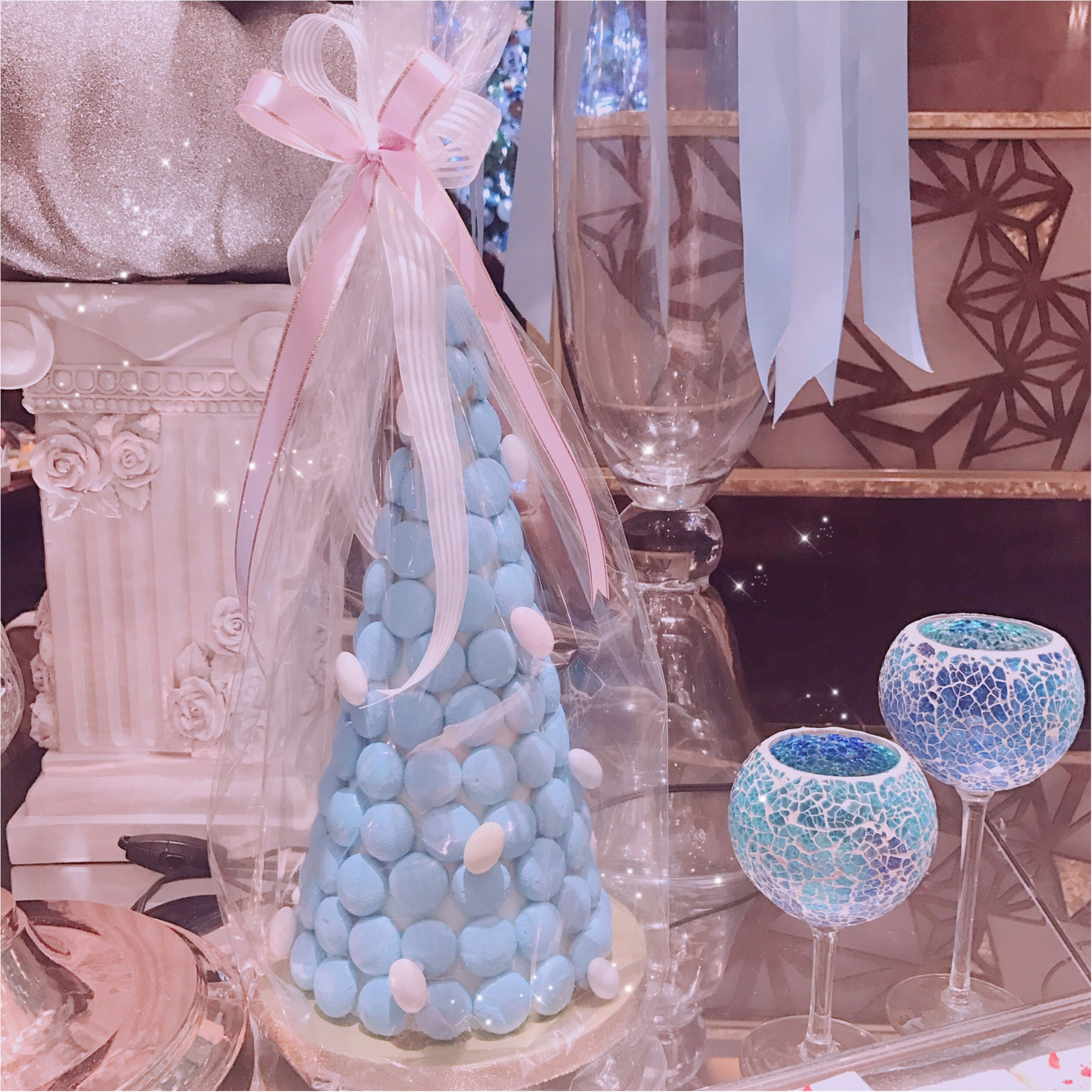 今回も可愛すぎ!ヒルトン東京マーブルラウンジ スイーツビュッフェのクリスマスフェアは、シンデレラがテーマ。_2_3