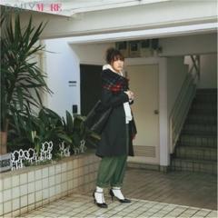 【今日のコーデ/佐藤ありさ】気になる彼と約束がある日曜日はカジュアルbut女らしいスタイルで。
