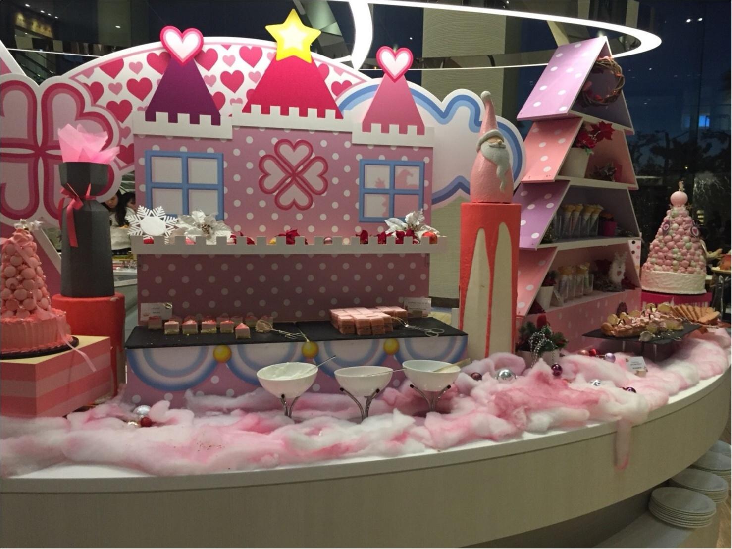 【スイーツ】モアハピ部でピンククリスマス♡_2