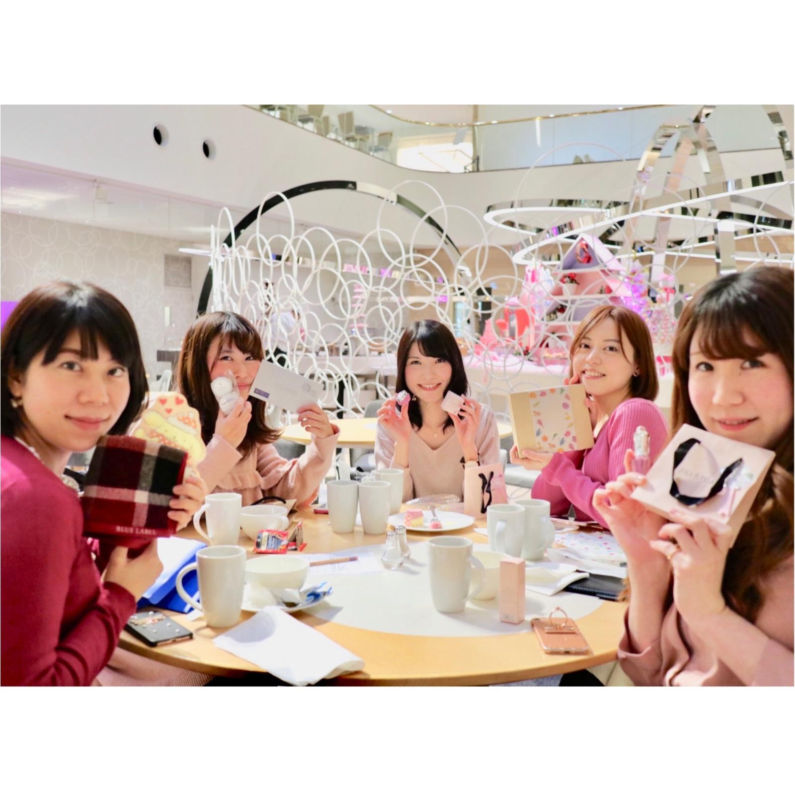 ヒルトン東京ベイ【ピンク・クリスマス】ビュッフェで今年最後のモアハピ女子会♡_8