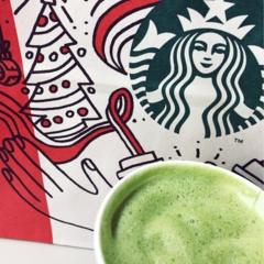 【スタバ】12/6 START♡期間限定♡ 大人気の抹茶フラペチーノがレベルアップしたような最高にクリーミーな抹茶♡
