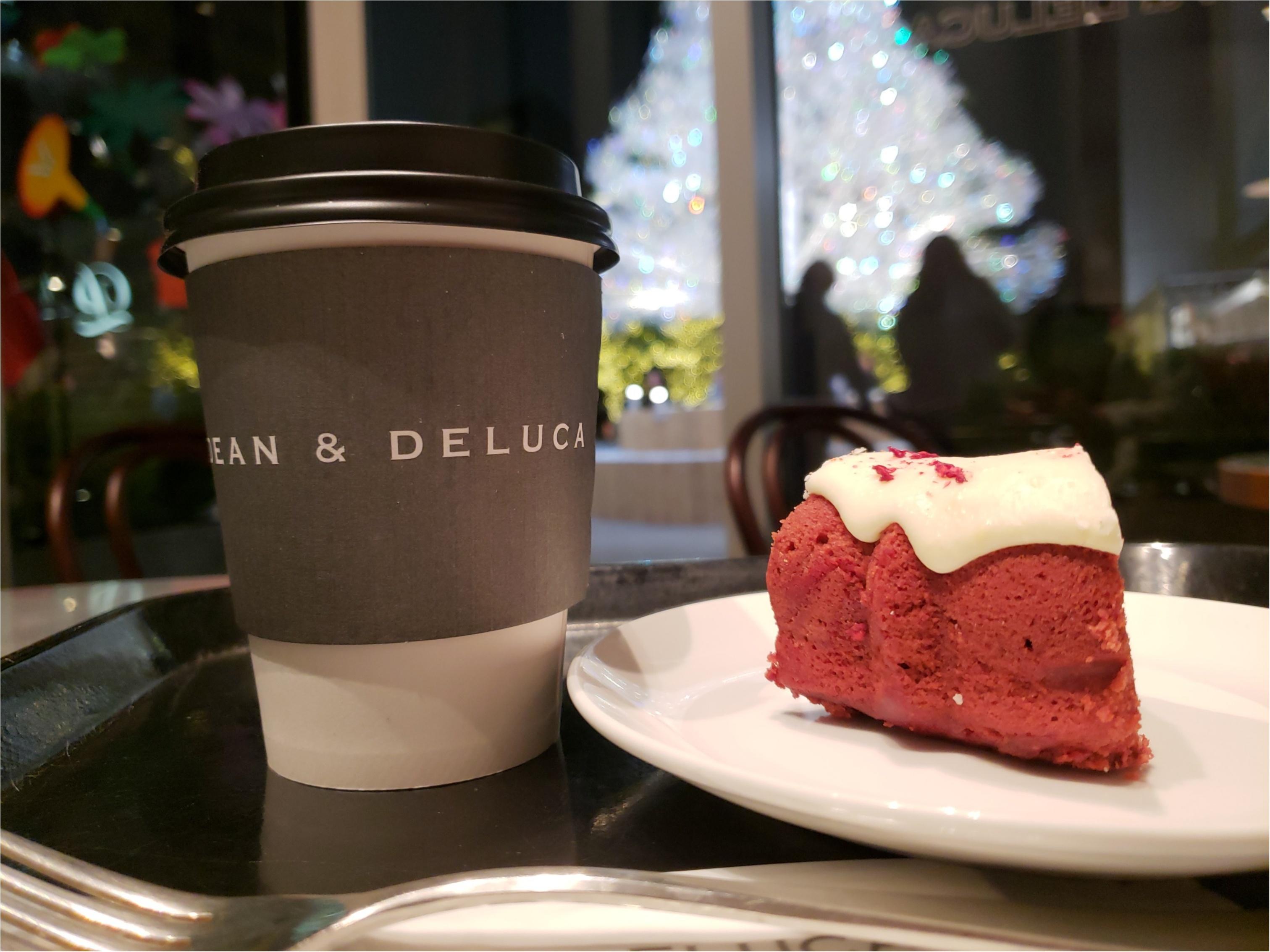 【DEAN&DELUCA】真っ赤なかわいいホリデーケーキ♡_2