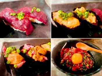 【バル肉寿司】なにコレとろける!絶対食べて!《肉×寿司》の贅沢すぎるコラボが絶品♡
