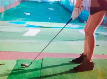 ぼっち練習デビゥ【運動オンチだけど私もみんなとゴルフやりたい】