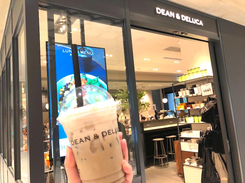 ディーン&デルーカのカフェでほうじ茶キャラメルチョコレートを注文