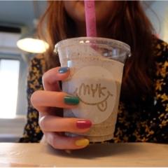 【宮古島カフェ】カラフルすぎて可愛い♡もはやインスタ映えのためのmykカフェ♡♡
