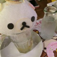 大阪で好評開催中‼︎ 期間限定『リラックマカフェ in はちみつの森』に行ってきました♡
