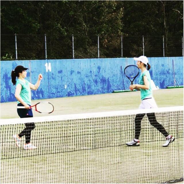 スポーツの秋【テニスの試合】参加してきました!!_1