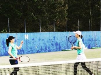スポーツの秋【テニスの試合】参加してきました!!
