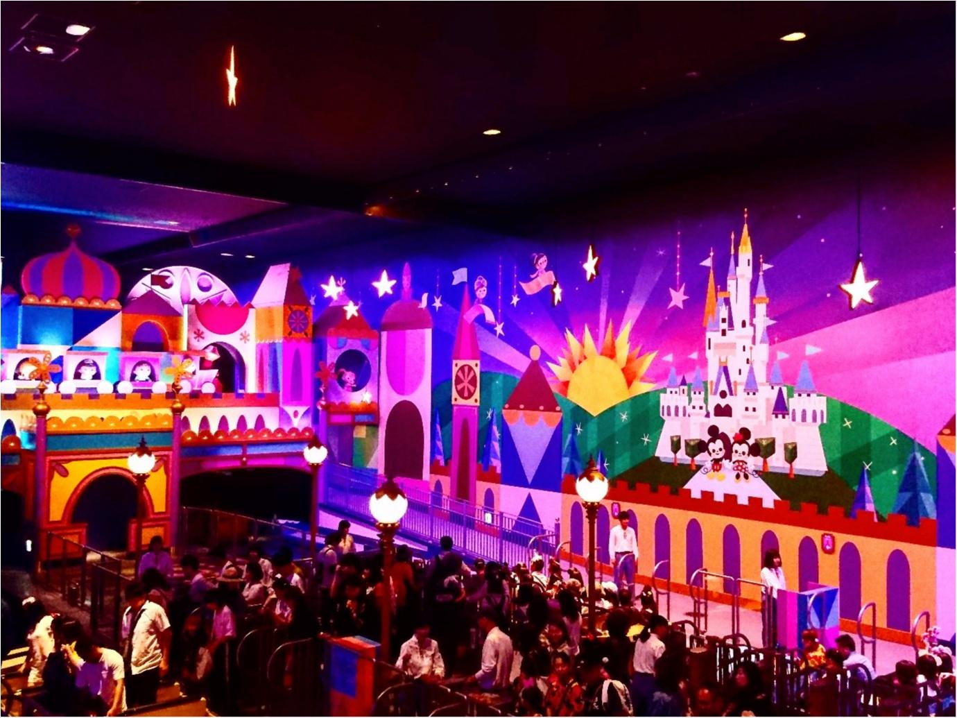 【 しの散策 】東京ディズニーリゾート 35周年 ★ リニューアルした《 イッツ・ア・スモールワールド 》が 可愛いすぎる ♪_4