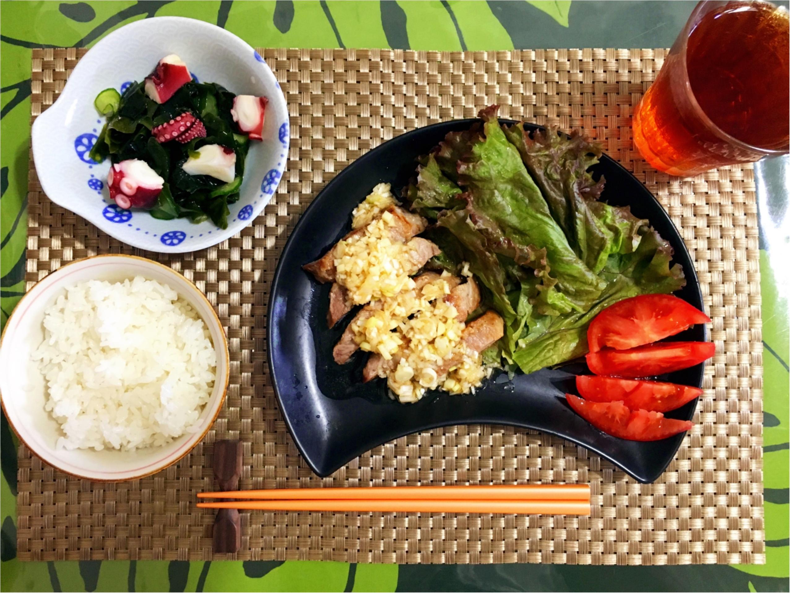 【COOKING】夏バテ予防に!夏野菜を使った簡単おうちごはん♡_3