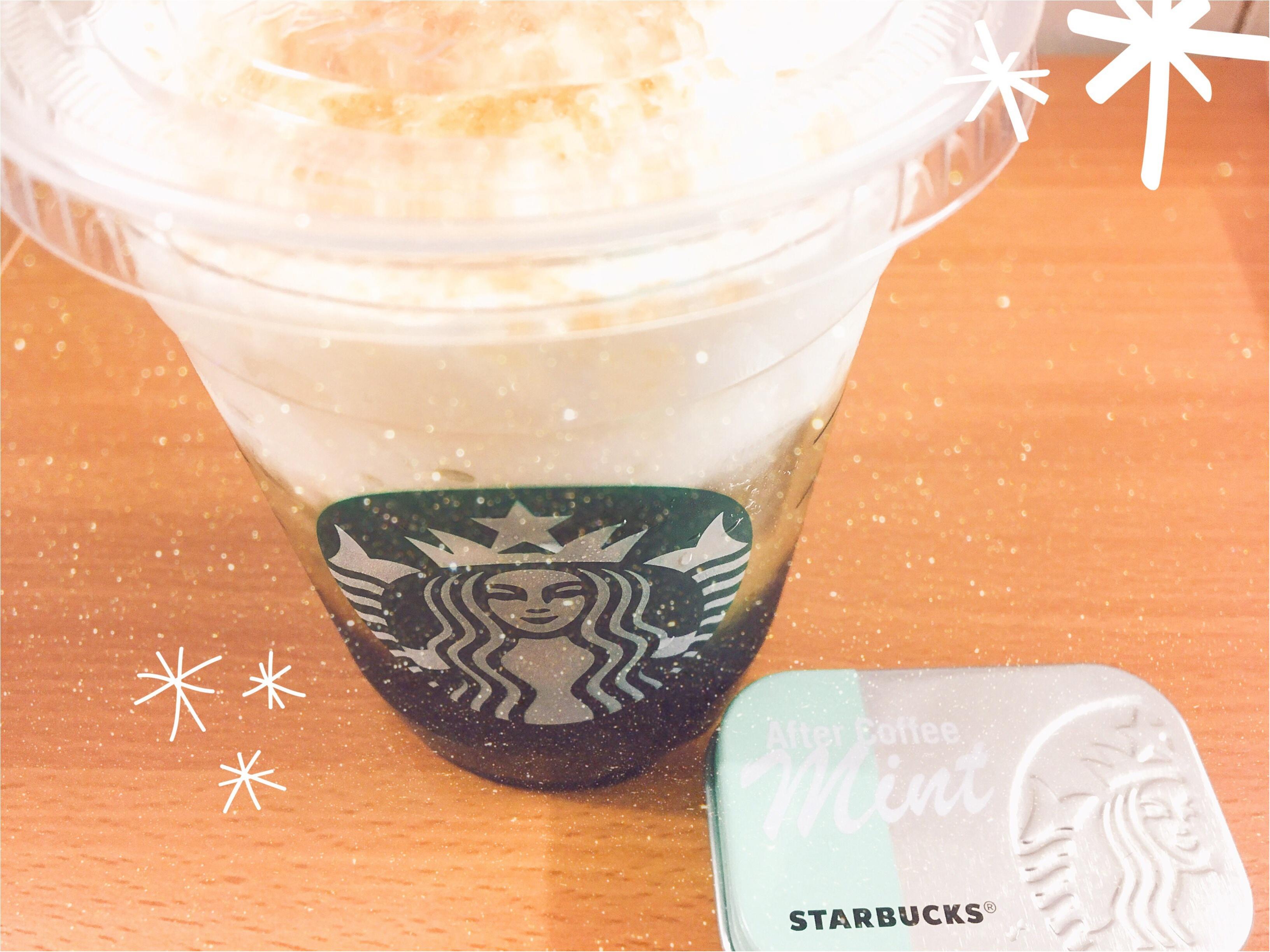 【スタバ】夏にぴったりのドリンク♡コールドブリュークリームフロート(*´꒳`*)_1