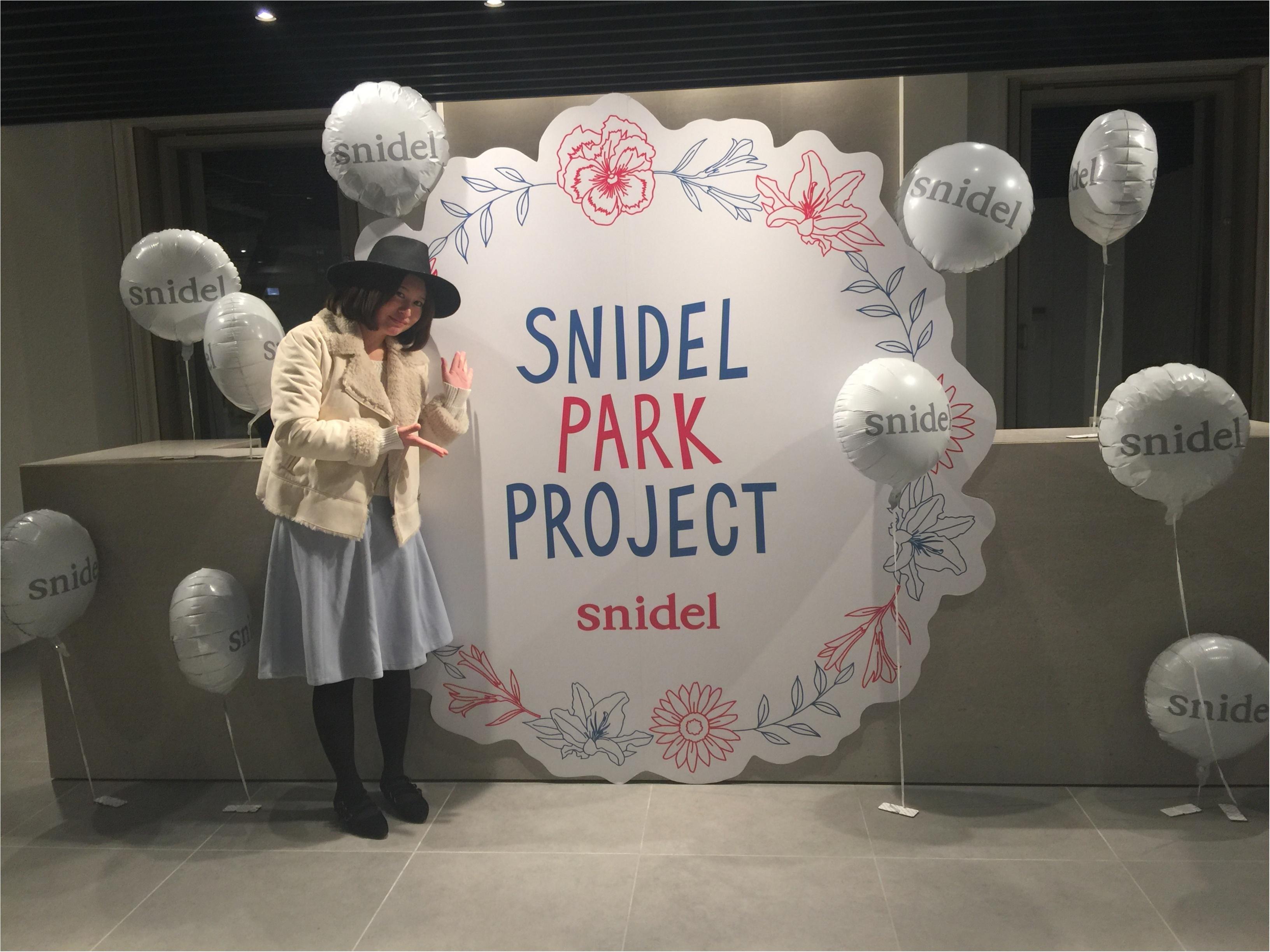 東北、九州そして鳥取の子供たちに最高の笑顔を!SNIDEL PARK PROJECT♡_1