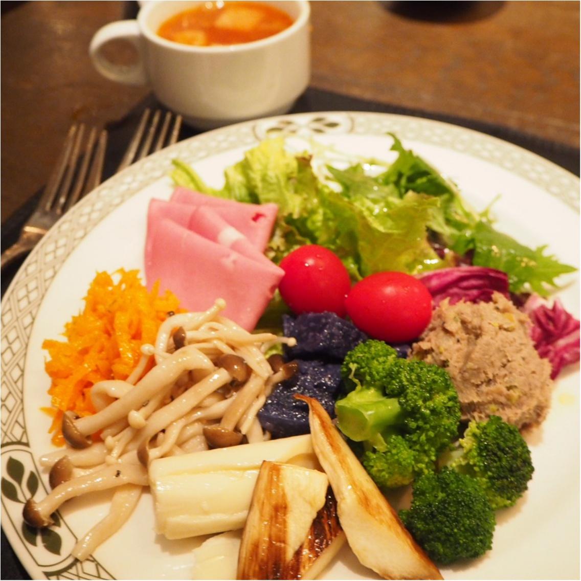 お肉大好き♡野菜大好き♡恵比寿ガーデンプレイスで素敵なランチ時間を過ごしました♪_3