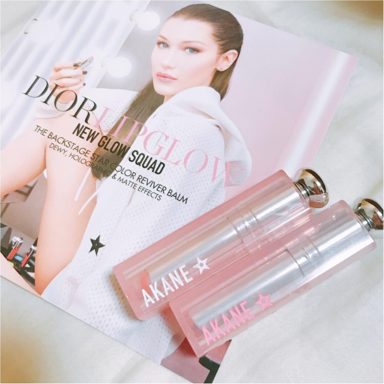 キラキラのくちびるに…♡【Dior(ディオール)】アディクトリップグロウ《ホロピンク》がかわいすぎるっ!!_3