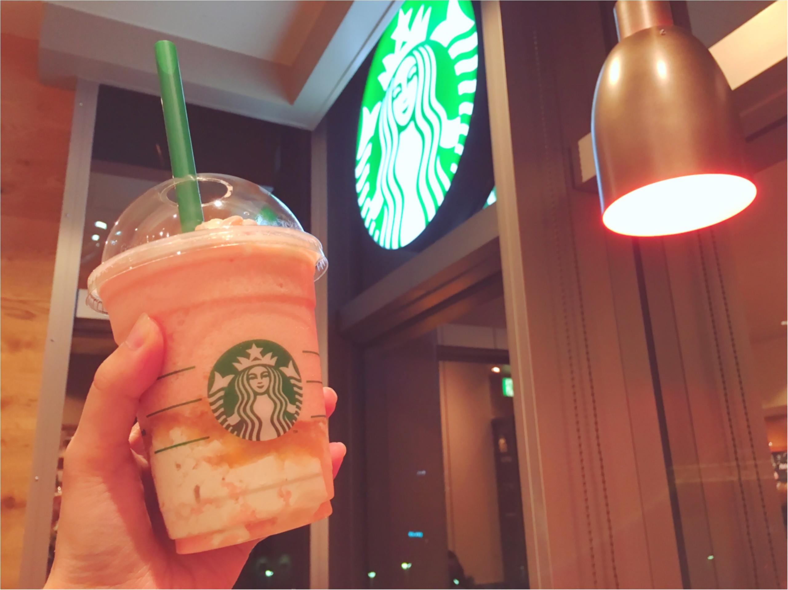 ピンクがおいしい&かわいい♡スタバの新作フラペチーノ♡_5