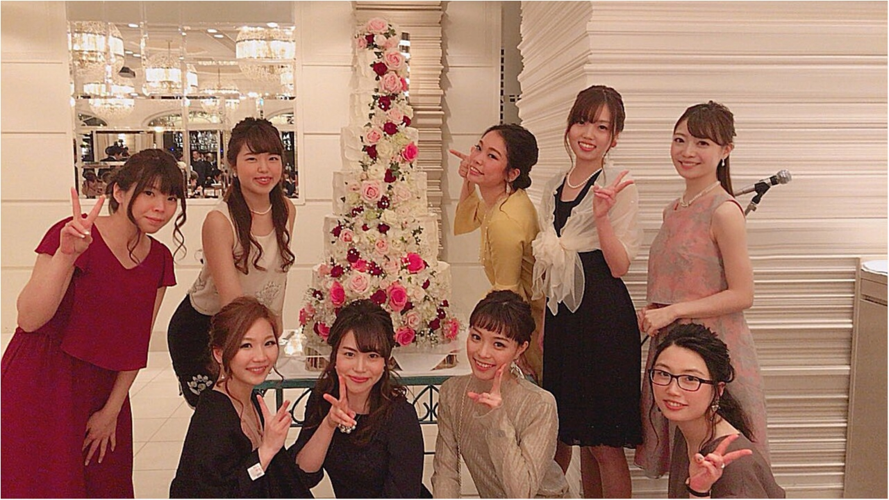《Happy wedding》around25お呼ばれコーデは華やかにカラードレスにハーフアップで♡式に華を添えましょう!_12