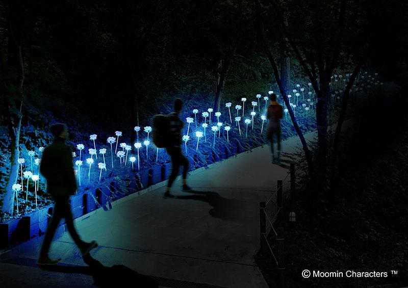 『ムーミンバレーパーク』でオーロラ&イルミネーション♡ プロジェクションマッピングなど体験型イベントを開催中_4