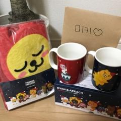韓国のお友達から선물♡