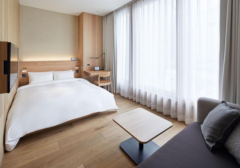 『MUJI HOTEL GINZA』の9タイプの客室、全部見せます♡ 家具からベッド、食器まで。無印良品の名品が使える試せる買える「無印良品 銀座」!_4_8