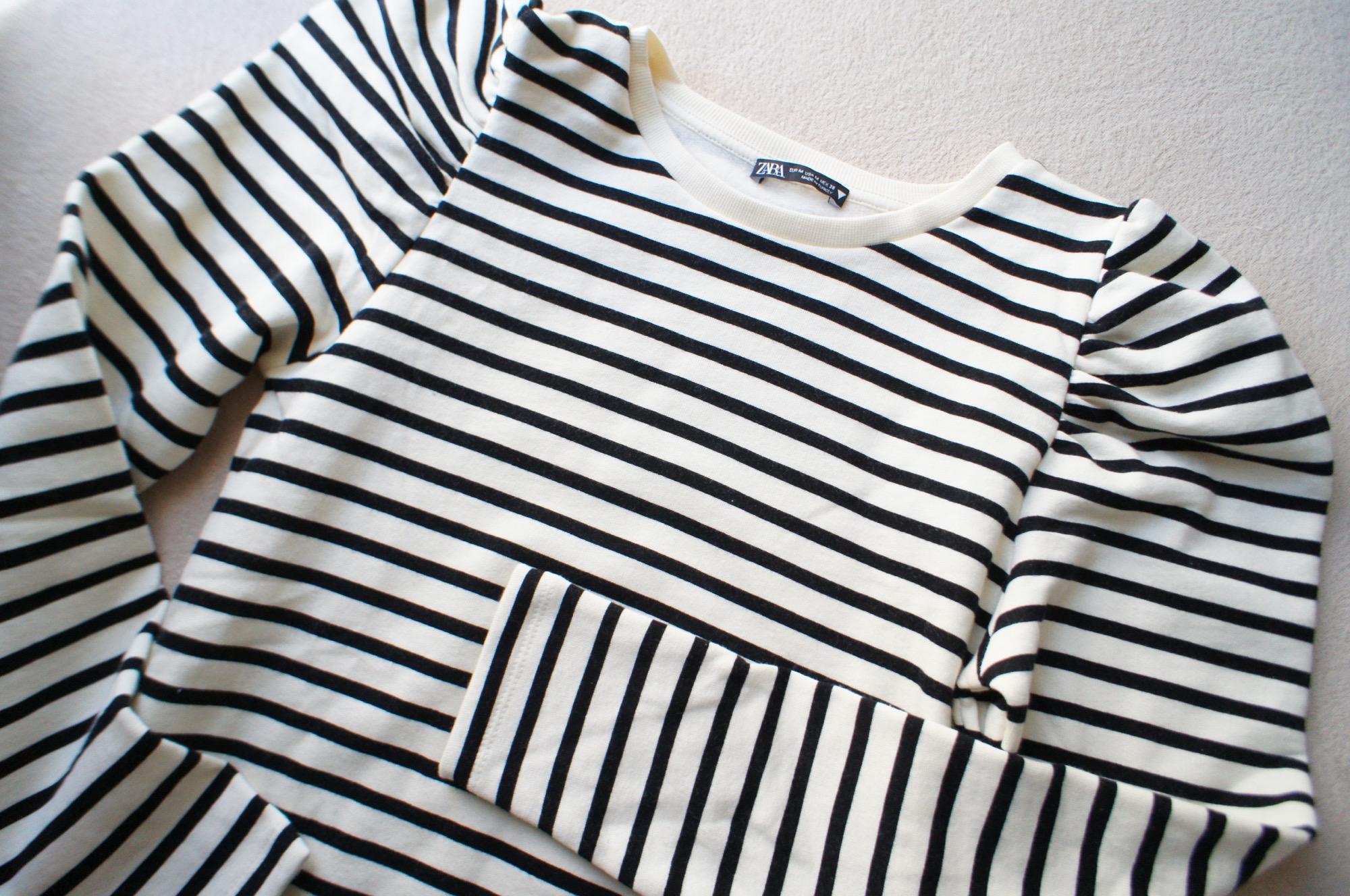 《#ザラジョ 必見❤️》今すぐ使える!【ZARA】バルーンスリーブスウェットシャツが可愛すぎる☻_2