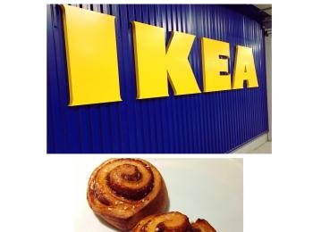 《テイクアウトもOK★》【IKEA】に行ったら絶対食べるべき!シナモンロール¥90はチェック必須です❤️