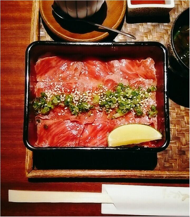 【三重グルメ】絶品☆レア松阪牛ステーキ丼がランチでお得に食べれるお店♪(443 まゆ_4