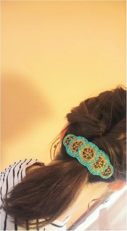 →【hairスタイル♡】トップふんわりポニーの作り方!_2