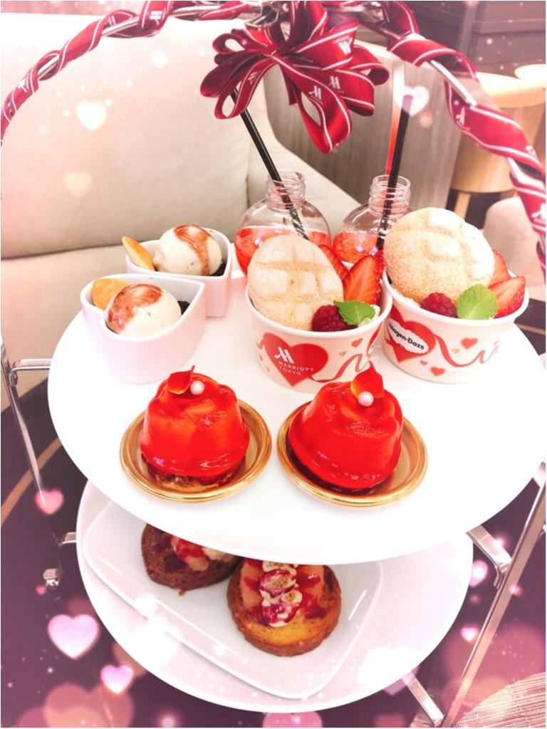 【ご当地モア❤️東京】「東京マリオットホテル」×「ハーゲンダッツ」の神コラボ!リッチで可愛すぎるアフタヌーンティー✨_5