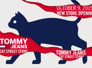 『トミー ジーンズ』が初の路面店をキャットストリートにオープン! 限定アイテムやカスタマイズも☆