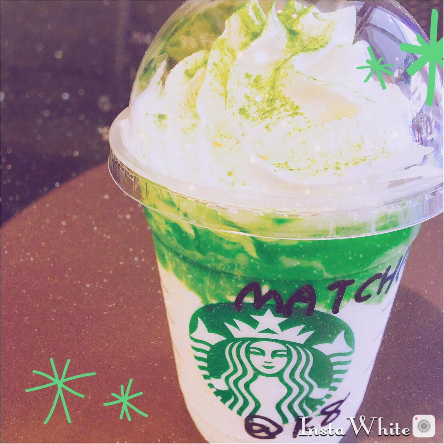 【スタバ新作❤︎】抹茶好きにはたまらない!贅沢フラペチーノ♡♡_1