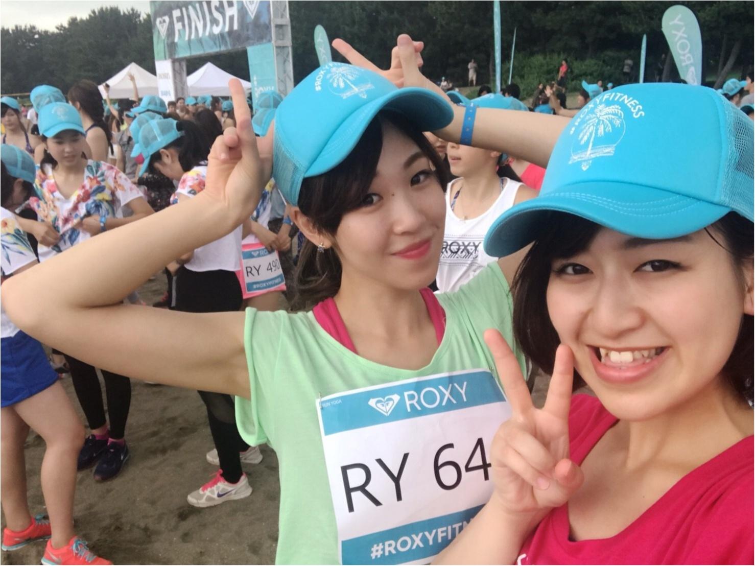 【EVENT】横浜初開催!#ROXY FITNESS RUN SUP YOGAに行ってきました♥_5