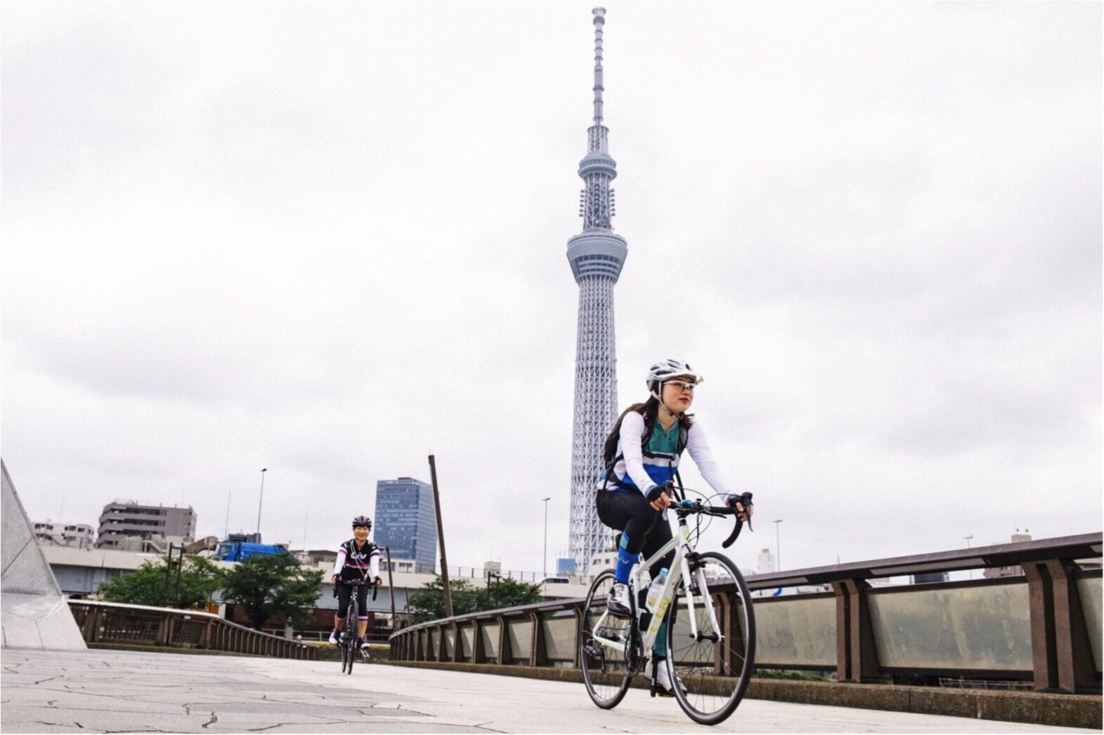 """自転車好きにオススメしたい""""チャリカフェ""""第2弾♡「Nui.」@東京・蔵前 #ツール・ド・東北【#モアチャレ さえ】_1"""