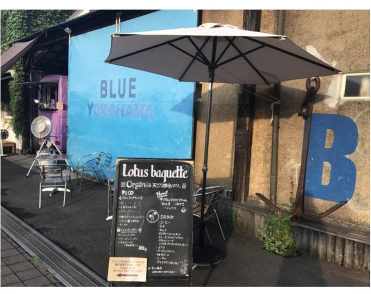 【FOOD】大桟橋のすぐそば!ジェニックな壁が目印★BLUE BLUE YOKOHAMA_2