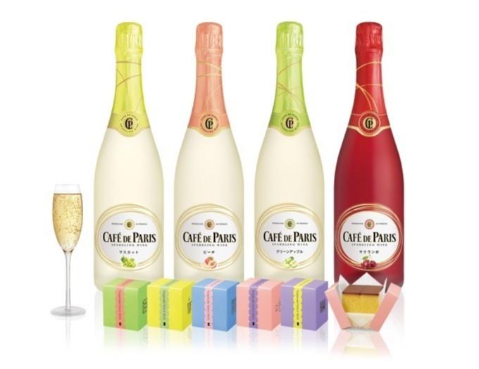 「カフェ・ド・パリ」のスパークリングワインと、「福砂屋」のカステラが無料でもらえる!! 期間限定コラボイベント開催♡_1