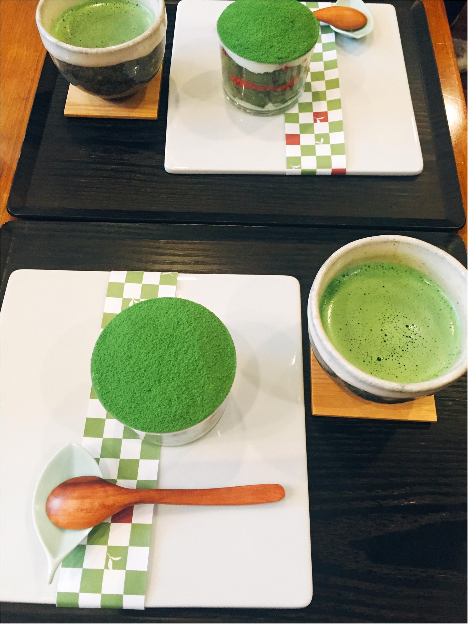 【表参道】日本茶が楽しめるカフェ♡期間限定《苺いり抹茶ティラミス》を食べに行きました♩_7