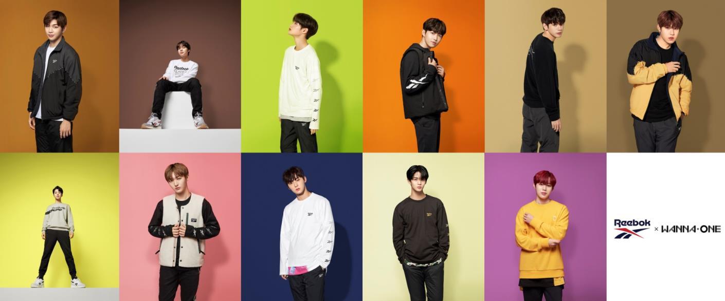 """K-POPアイドルグループ""""Wanna One""""が『リーボック クラシック』のブランドアンバサダーに就任!_1"""