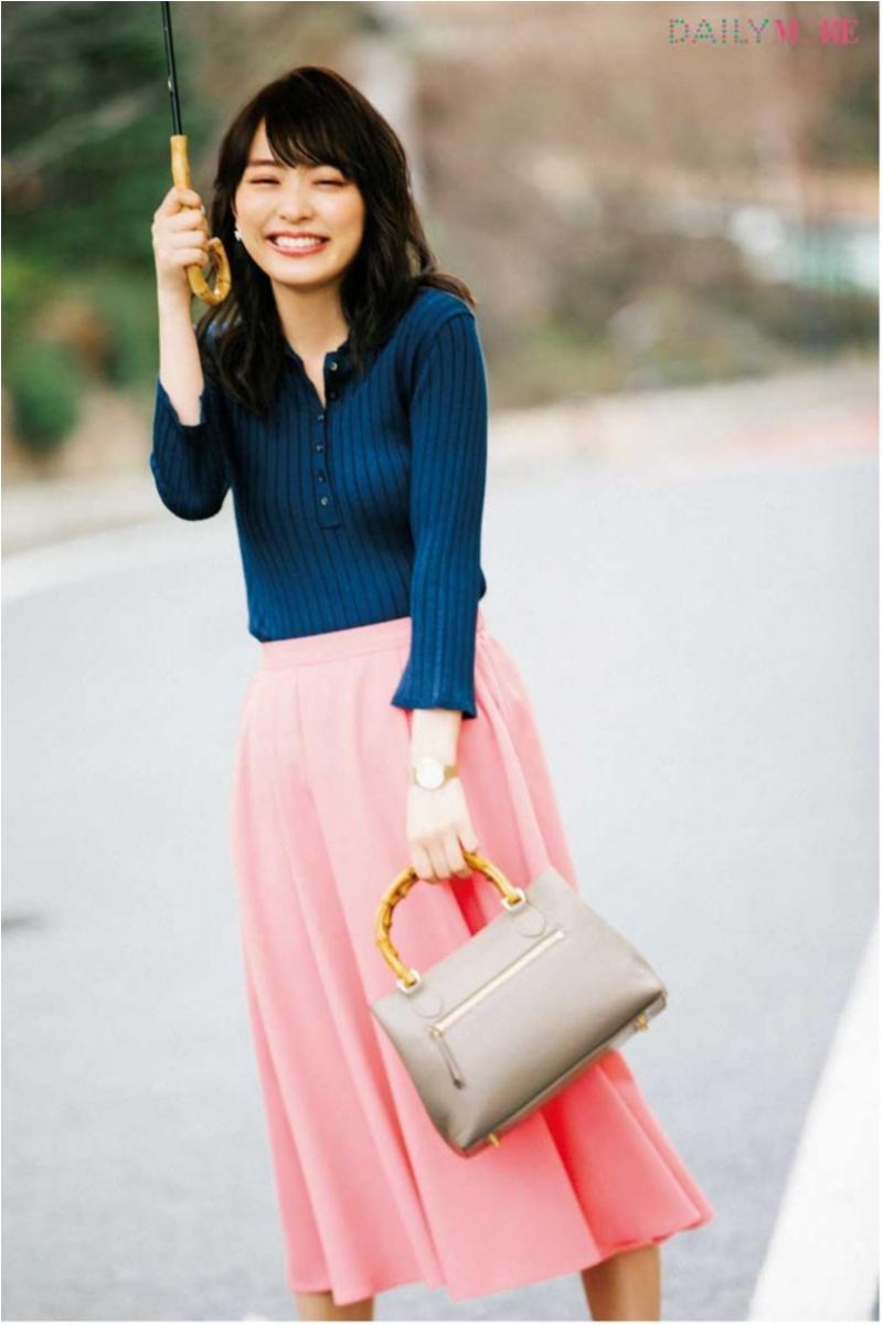 甘い服をほどよく大人にしてくれる「ポロシャツ」コーデまとめ♡_5
