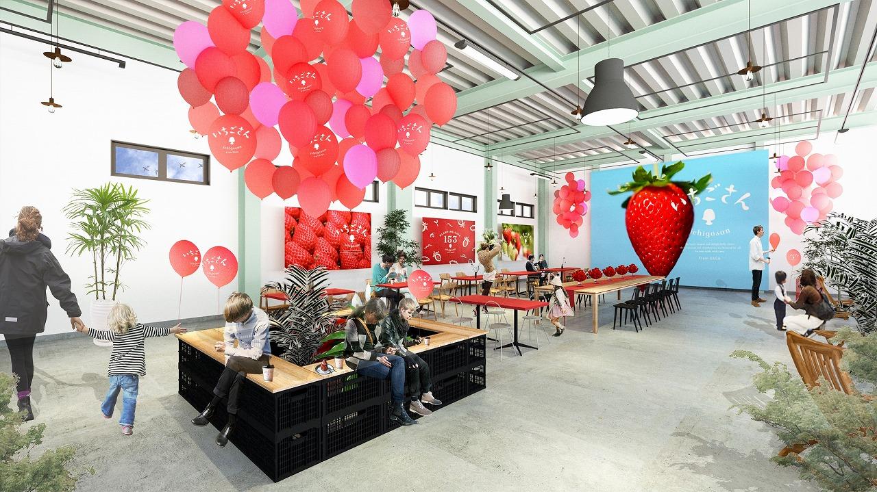 いちご×グランピング!? 南青山に、佐賀県新ブランド「いちごさん」を堪能できるカフェが限定オープン♡ 【 #いちご 11】_2