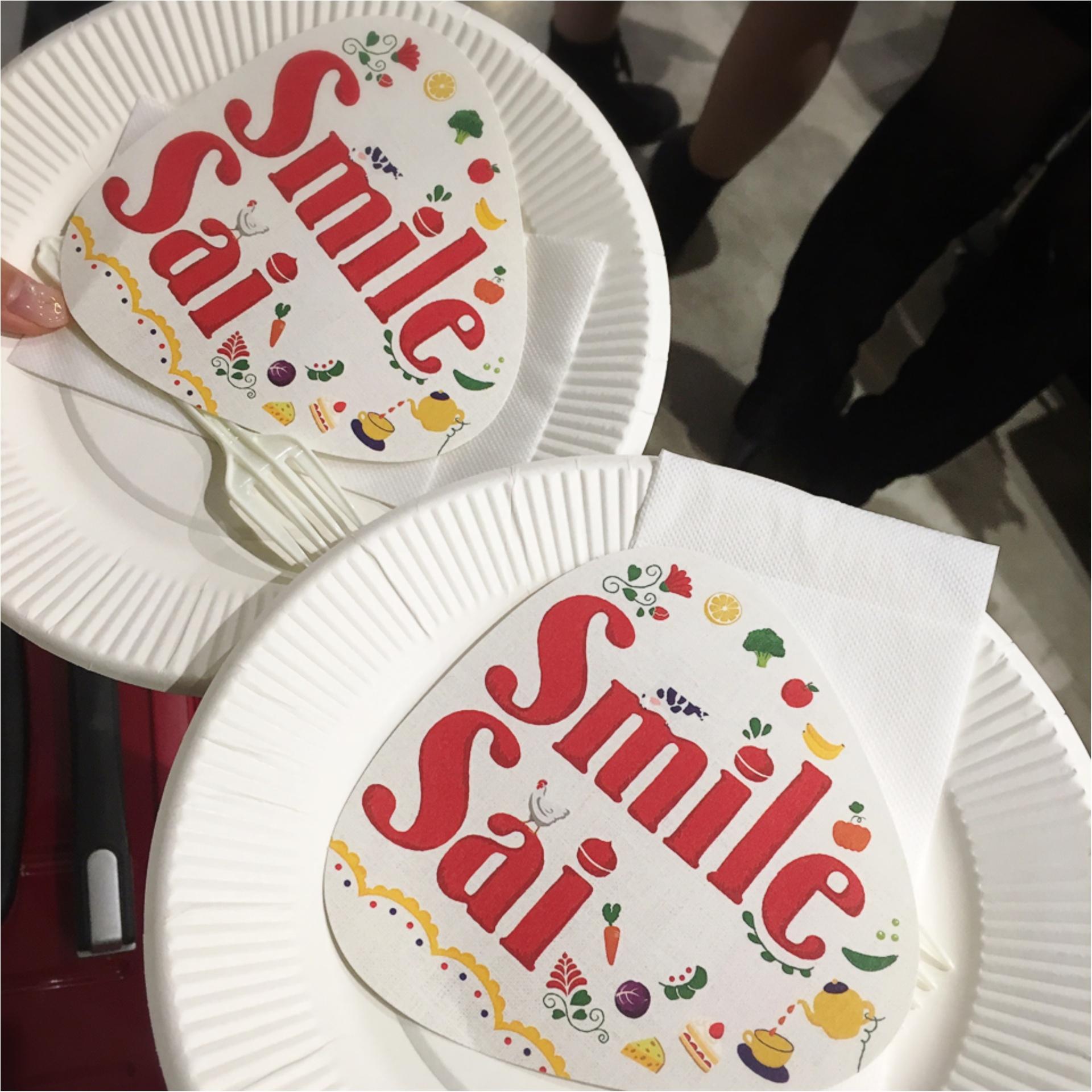 《ケーキビュッフェも♡》ABCクッキングの食の祭典!Smile Saiに行ってきました‼︎_1