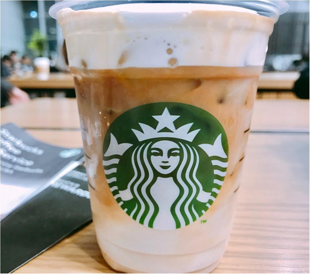 【スタバ新作】先行販売スタート!3月15日発売★《ムースフォームラテ》コーヒーなのに白い?3層のグラデーション&モコモコムース泡が驚きの味わい♡♡_3